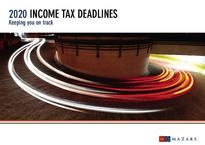 2020 Tax Deadlines