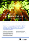 Technology and Sustainability - Five innovations